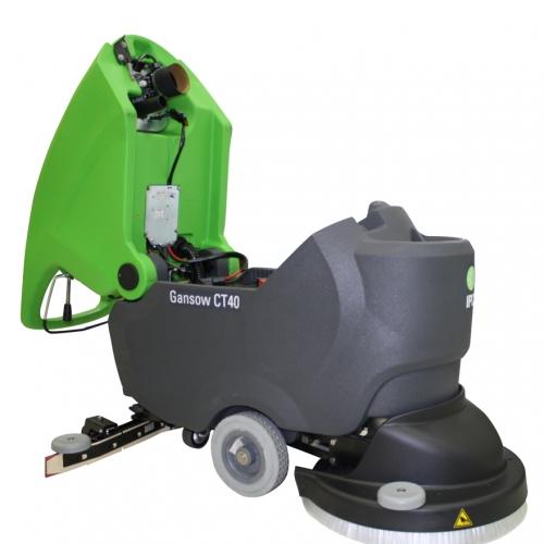手推式自動洗地機CT40|權能國際