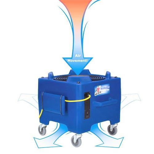 高效率空氣循環機-地面/地毯風乾機PDF6WRD|權能國際