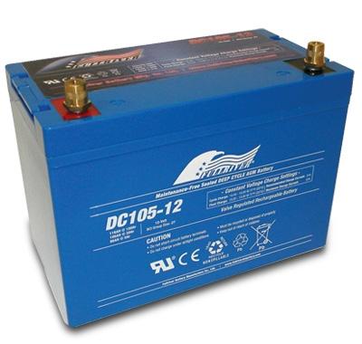 FULLRIVER深循環產業用電池DC105-12|權能國際