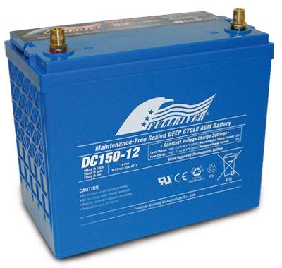 FULLRIVER深循環產業用電池DC150-12|權能國際