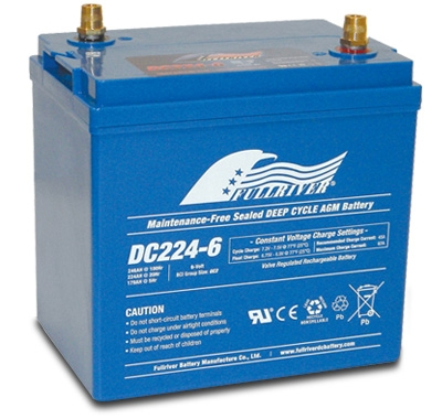 FULLRIVER深循環產業用電池DC224-6|權能國際