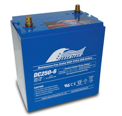 FULLRIVER深循環產業用電池DC250-6|權能國際