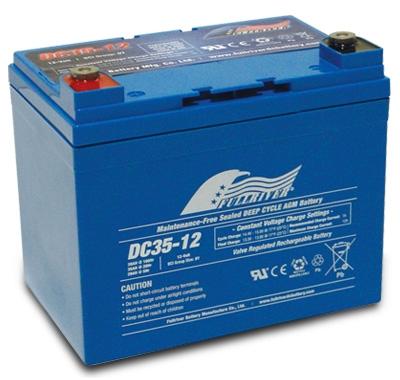 FULLRIVER深循環產業用電池DC35-12|權能國際