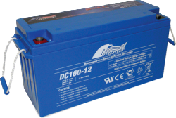 FULLRIVER深循環產業用電池DC160-12V|權能國際