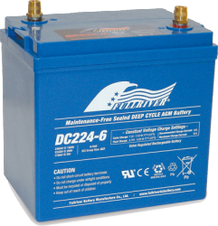 FULLRIVER深循環產業用電池DC224-6 權能國際
